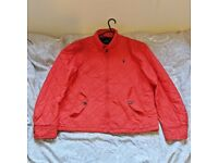 BARGAIN = ORIGINAL RED POLO RALPH LAUREN Mens Jacket Size LARGE L COST £300 ! VERY RARE!!