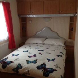 3 bedroom caravan at sandylands holiday park.