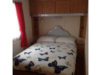 3 bedroom caravan at sandylands holiday park.