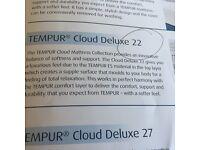 King size tempur cloud 22 mattress
