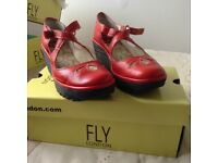 Ladies FLY LONDON shoes size 4