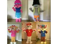Mascots for all occasions