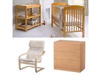 Full nursery set.