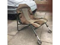 SOLD Carp Fishing,Trakker levelite compact and transformer chairs