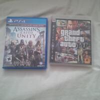 assassins creed unity and gta 4