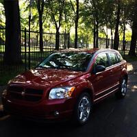 65,500km Red Dodge Caliber SXT +pneu dhiver winter tires