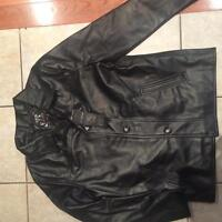 Emporio leather like jackets, coats brand new w tags
