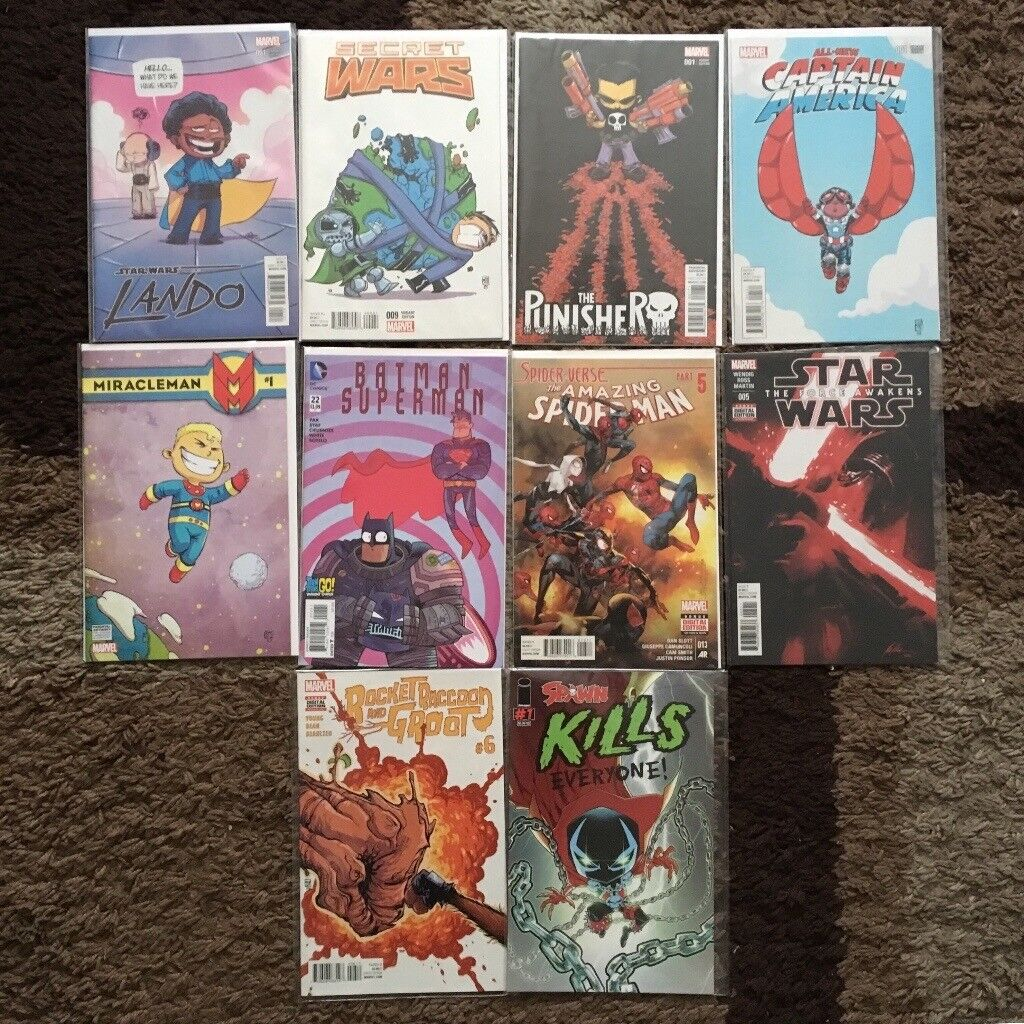 Marvel, DC and Image Comics Lot