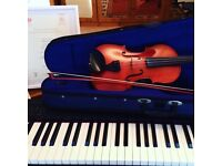 Piano, violin, singing and ukulele lessons. All ages and abilities.