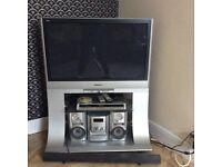 "Panasonic 37"" plasma flat screen TV"