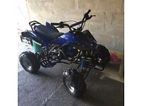 Blue interceptor quad for sale