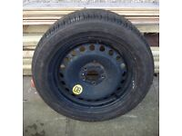 Ford Focus wheel and tyre