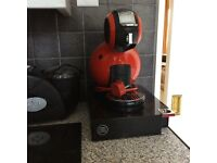 Nescafé Dolce Gusto Coffee Maket with storage drawer and pods