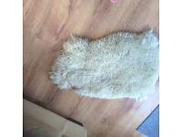 Sheepskin rug small