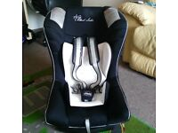 Chicco Proxima Car Seat Group 0 plus 1 in Black Label Limited Edition