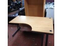 Large Curved Desk