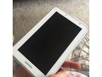 Samsung tablet and camera