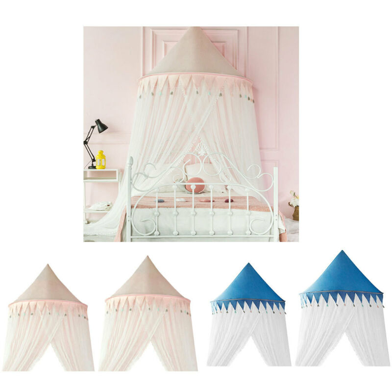 Lovely Tower Shape Bed Canopy Mosquito Net Protector Play House Tent Accs