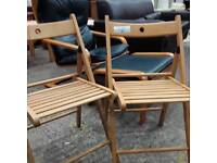 Small Deck Patio or Garden Chairs. Del Available