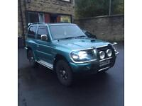 1997 R REG MITSUBISHI SHOGUN SWB 2.8TD GLS 2835cc 125BHP FLARED ARCH UK SPEC OFF ROAD TYRES
