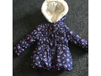 Girls coat size 2-3 and 3-4