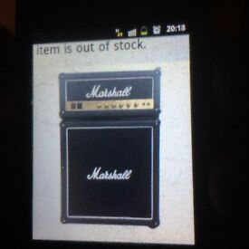 Marshall amplifier fridge cost £400 selling for £300