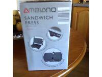 New unopened Sandwich Press , Grill