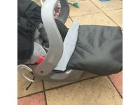 New born car seat