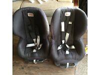 FREE Britax child car seats.( toddler to 5 years)