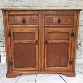 Vintage Shabby chic wooden refurbished sideboard