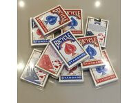 Bicycle Playing Cards - Brand New - Red/Blue