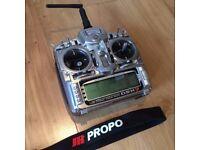 JR DSX9 RC Transmitter