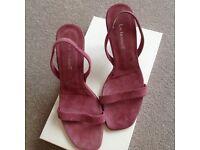 LK Bennett suede sandals