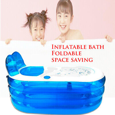 Bañera Inflable Adulto Plegable Bañera Baño de plástico barril Children's