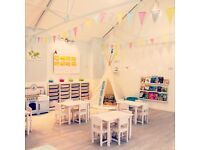 Nursery Teacher/Assistant Wanted for a small fulham nursery.