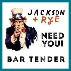 Bartender - Jackson + Rye - Soho (Flagship Restaurant)