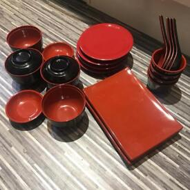 New Japanese cutlery set of 4