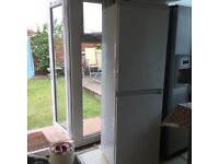 Integrated indesit tall fridge freezer 50/50 Bexley area - good working cond