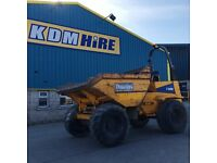 2007 THWAITES 9T DUMPER WITH FULL SERVICE HISTORY AND 1 OWNER. CHOICE OF 2