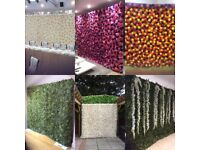 FLOWER WALL/ BACK DROPS/ ARCHES/ PERGOLA/ CANDLE WALL/ MEMORY WALL FOR HIRE