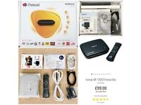 RRP £99.00 As New Humax HB-1100s Freesat Satellite Receiver Tv Box HD On Demand WiFi Freeview