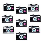 Patch d'application thermocollant pour appareil photo - 38 x