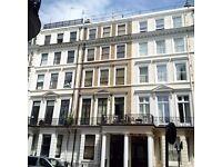 Studio bedsit to let Kensington Gloucester rd sw7 650pm furnished