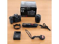 Panasonic LUMIX 4K Compact Camera with 12-60mm Lens DMC-G80M