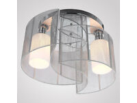 chandelier celling light lamp- like new