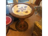 Unusual African table