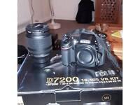 Nikon D7200 with 18-105VR kit