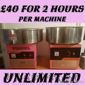 Sweet Delights unlimited candyfloss for 2 hours from £40