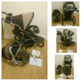SALE MASSIVE STOCK CLEARANCE baby trend (out and about) jogger travel system