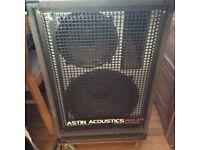 Full range active. Speaker cabinet